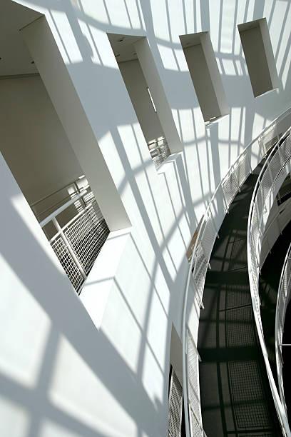 Curvy Architecture stock photo