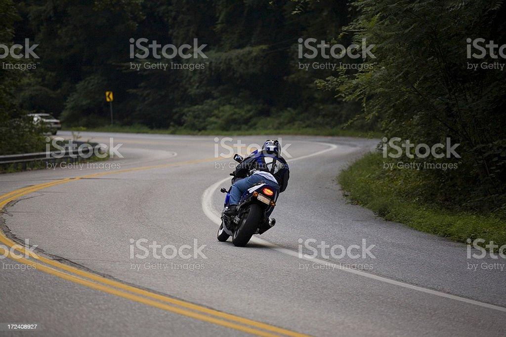 Curvy Backroad stock photo