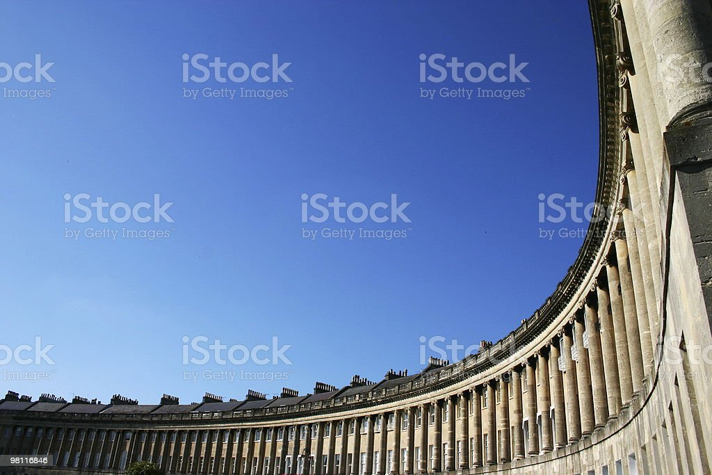 Curvy building royalty-free stock photo