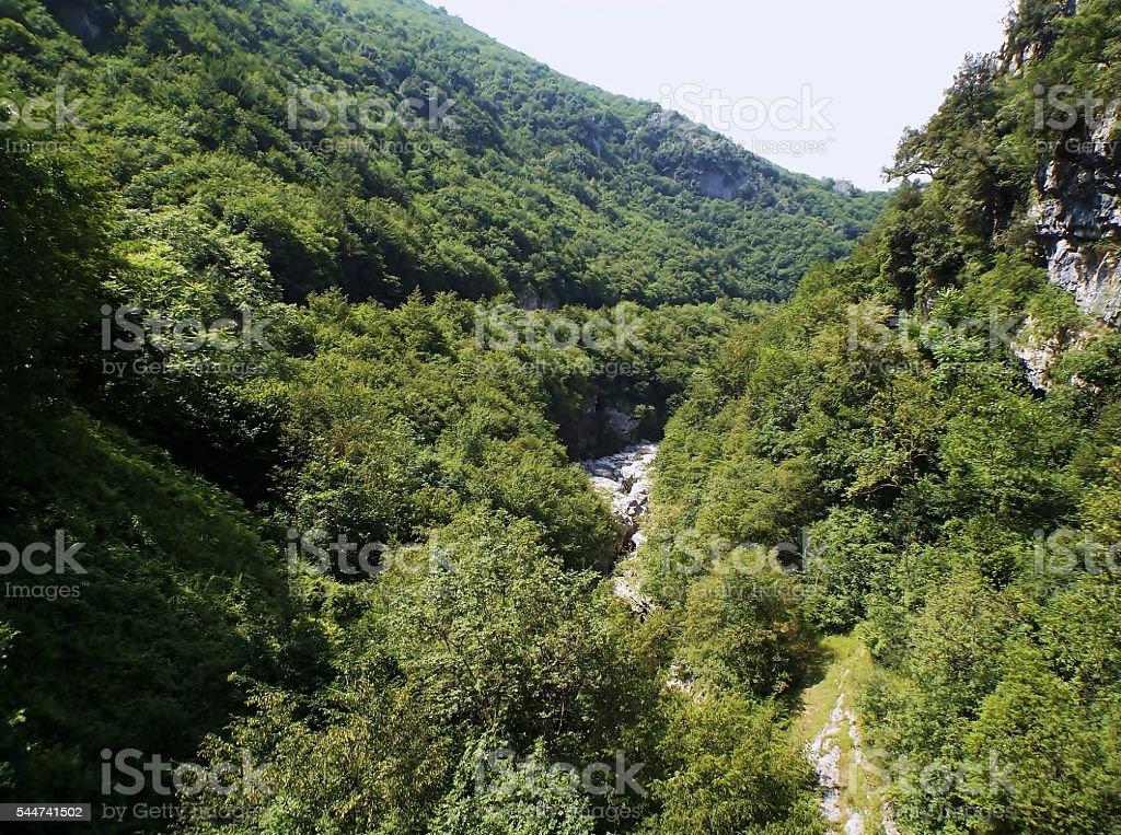 Cusano Mutri - Forre di Lavello - foto stock