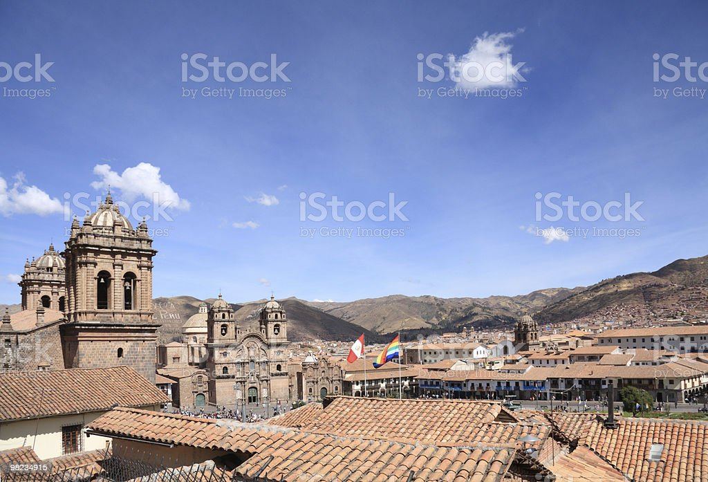 Città di Cusco foto stock royalty-free