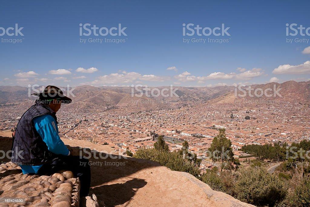 Cusco outlook, Peru royalty-free stock photo