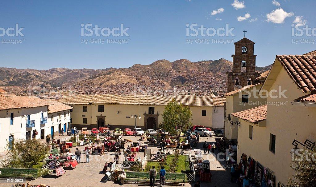 Cusco, Peru royalty-free stock photo