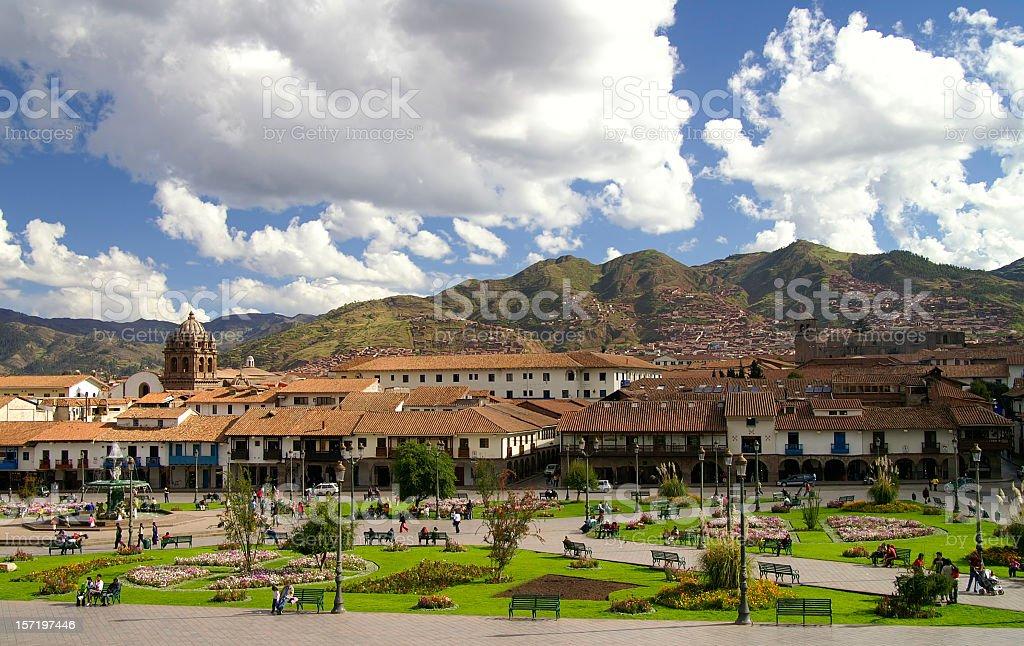 Cusco stock photo