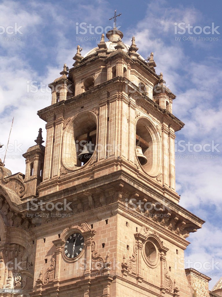 Cusco, Plaza De Armas royalty-free stock photo