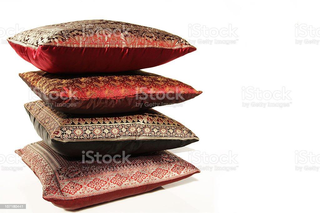 Almofadas do Oriente Médio - foto de acervo