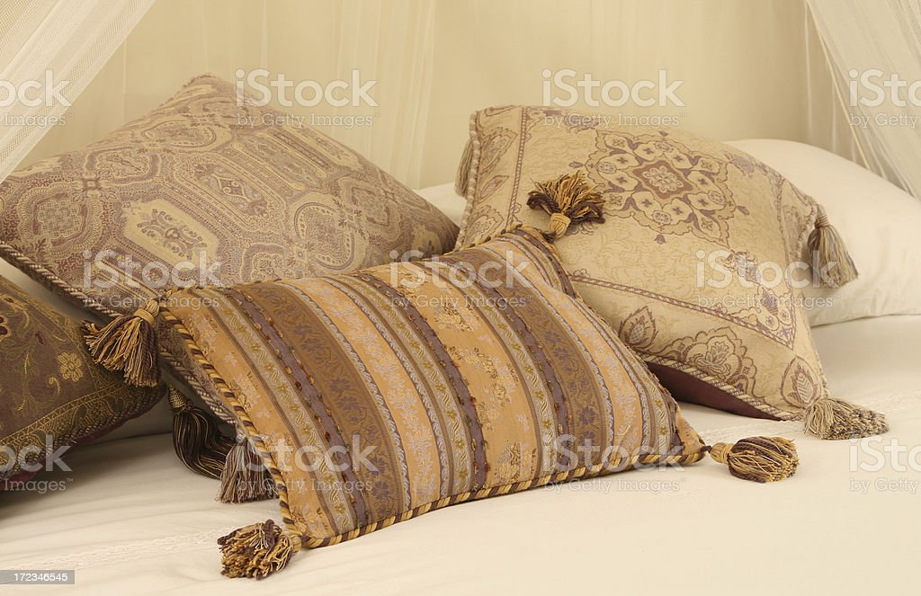 Cushions royalty-free stock photo
