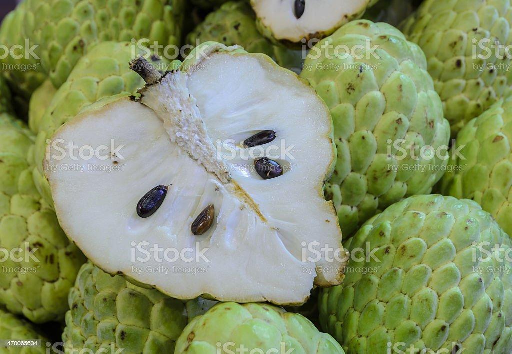 Cherimoya oder Zucker Apfel Obst – Foto