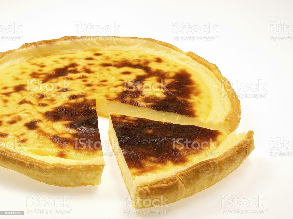 custard pie royalty-free stock photo