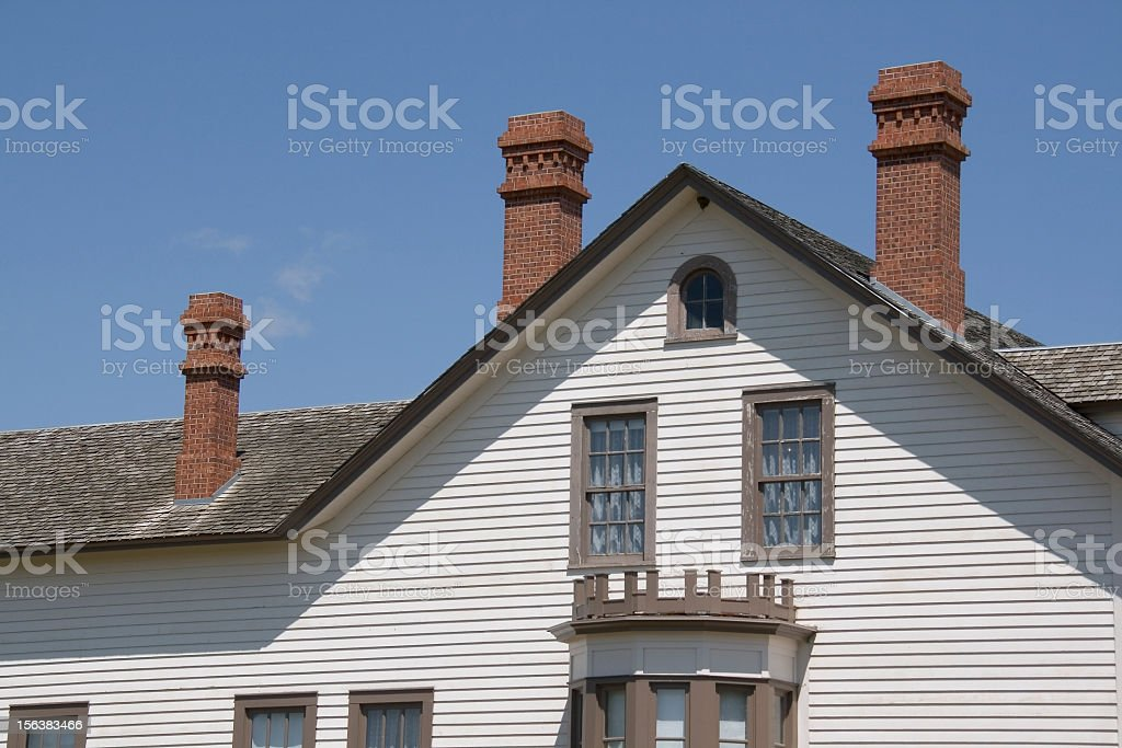 Custer House stock photo