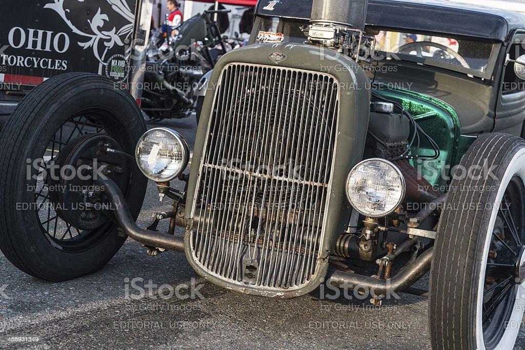 Custom 1934 Ford royalty-free stock photo