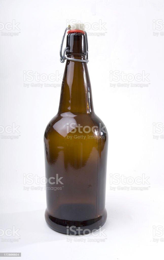Custom Beer bottle stock photo