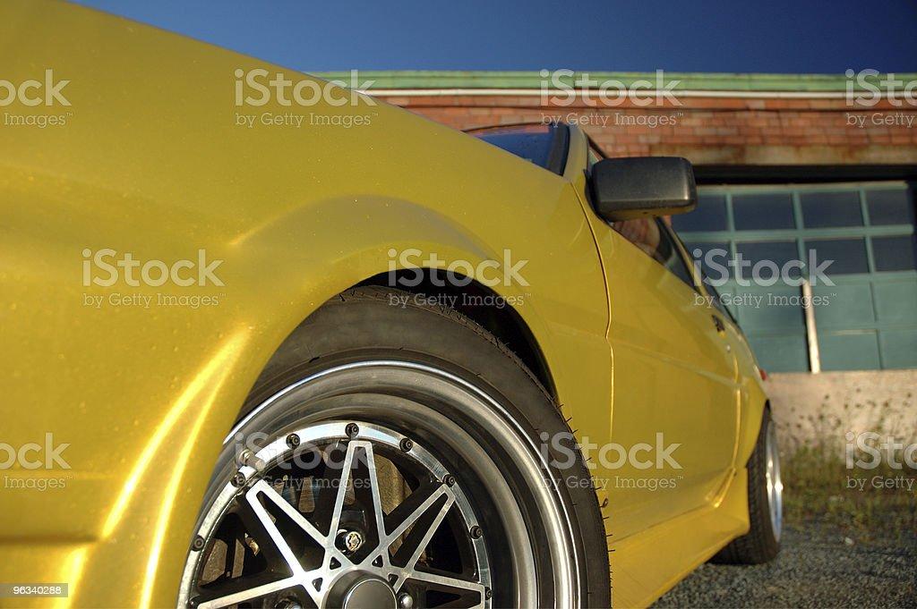 Custom Coupe royalty-free stock photo