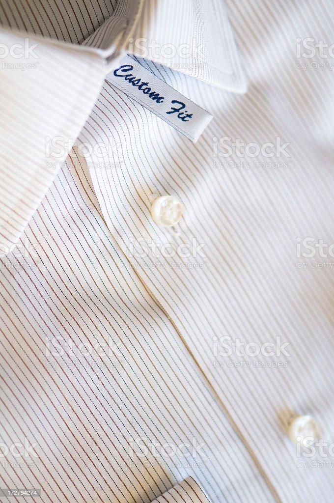 Custom fit shirt royalty-free stock photo