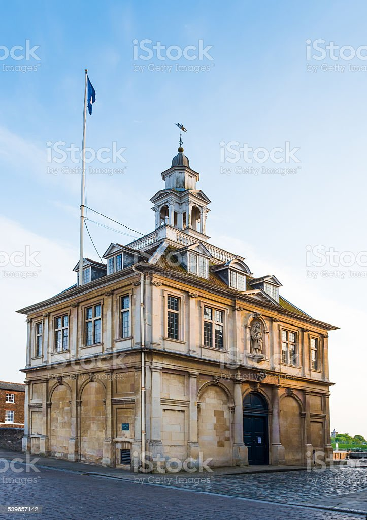 Custom House King's Lynn Norfolk stock photo