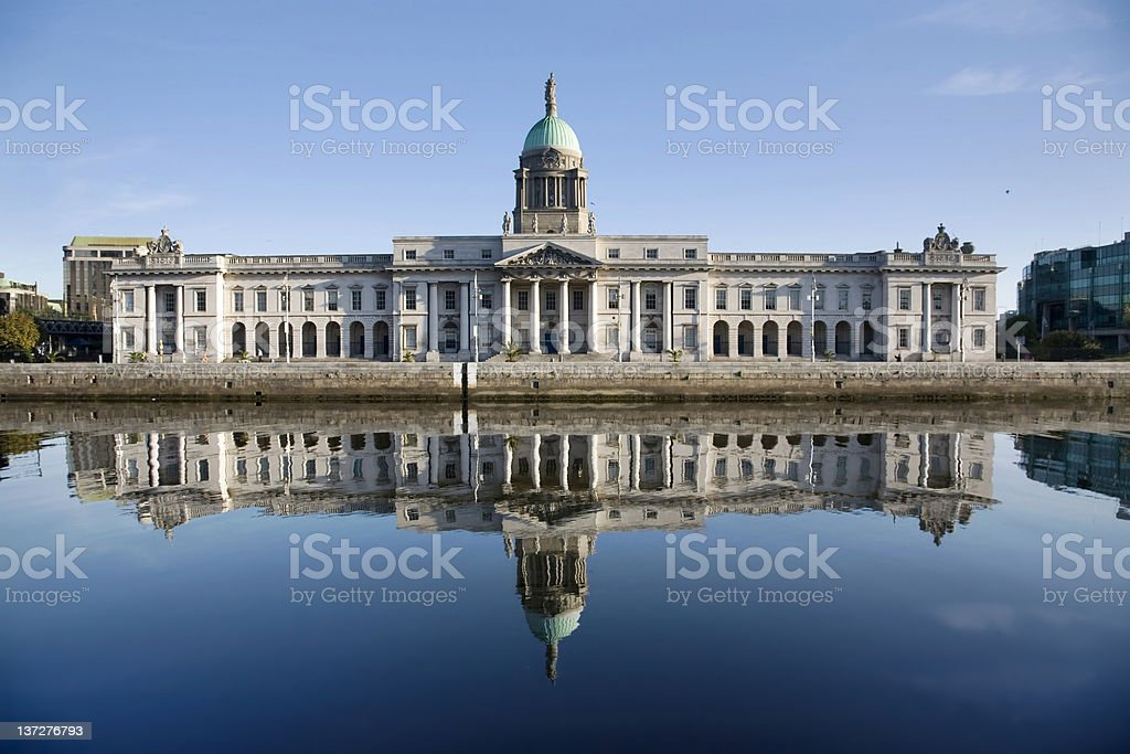 Custom House stock photo