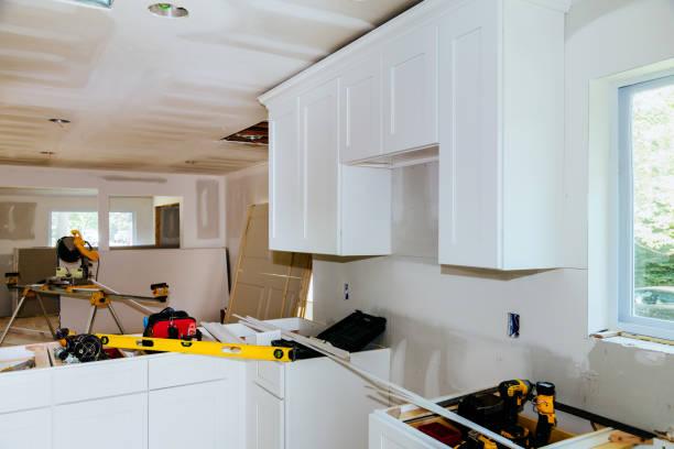 Custom kitchen cabinets in various stages of installation base for picture id1005766046?b=1&k=6&m=1005766046&s=612x612&w=0&h=dzsj08elt9d5dmm8qrcekh4g5y735 p1j4ujidjul1u=