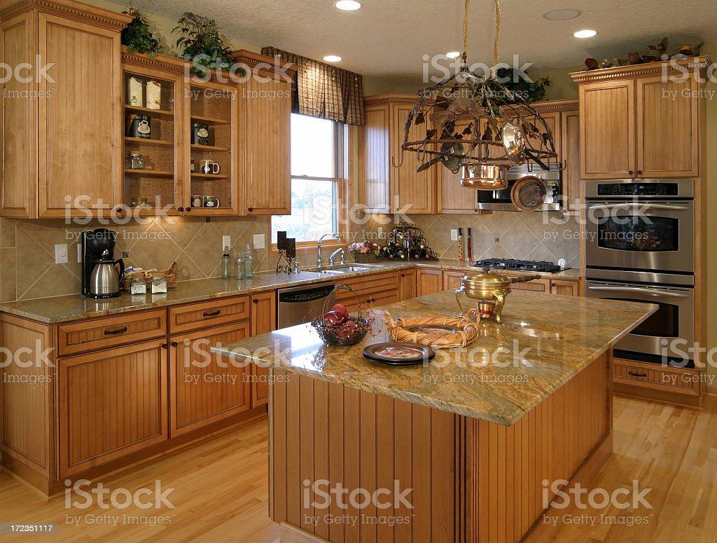 Custom Kitchen. royalty-free stock photo