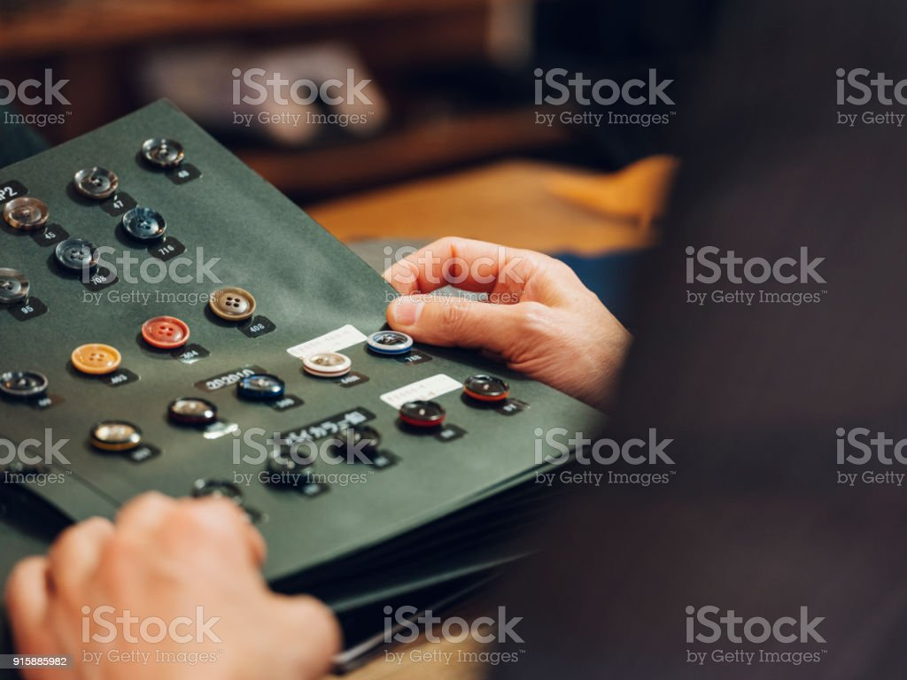 Custom Suit Shop in Tokyo stock photo