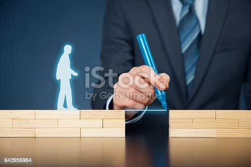 istock Customer care and life insurance concept 643956964