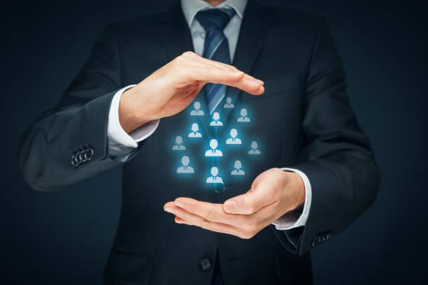 Client des soins, assurances, ressources humaines - Photo
