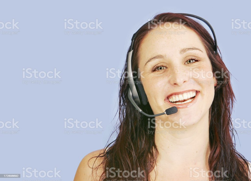 Customer Care royalty-free stock photo