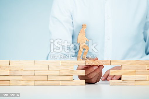 istock Customer care, support (help) and personal development concepts 853185816
