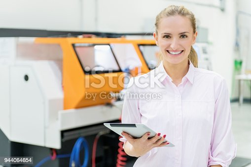 istock Customer care with smile 944064654