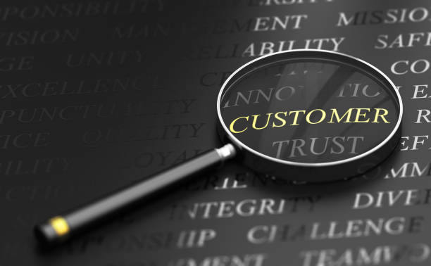 Customer Centric Concept stock photo