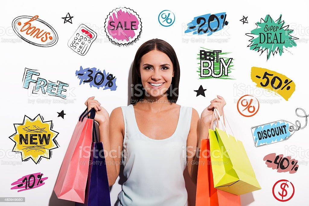 Customer choice. stock photo