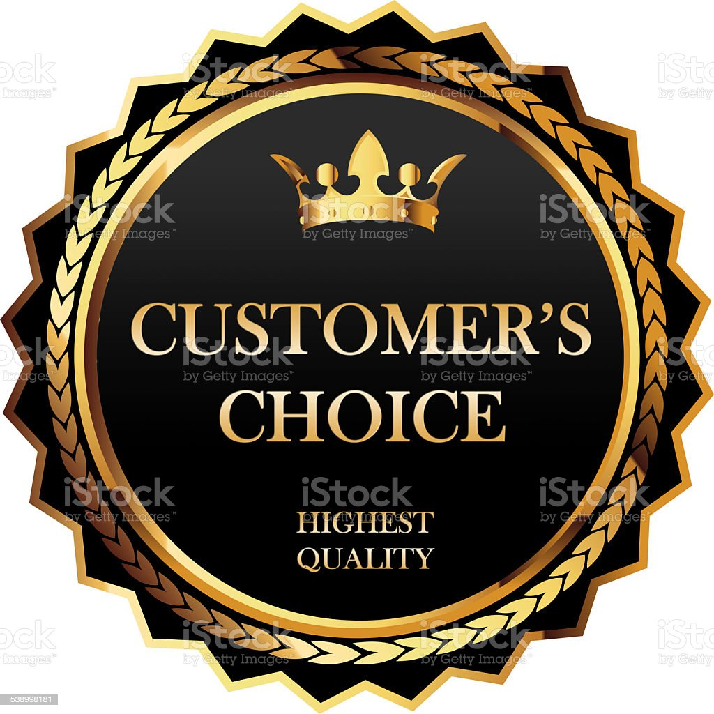 Customer choice stock photo