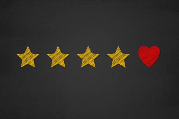 customer experience concept, best excellent services rating for satisfaction present. - fedeltà foto e immagini stock