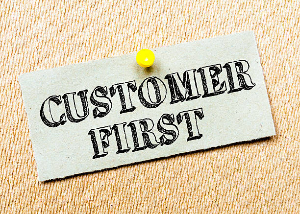 Kunden erste Botschaft – Foto