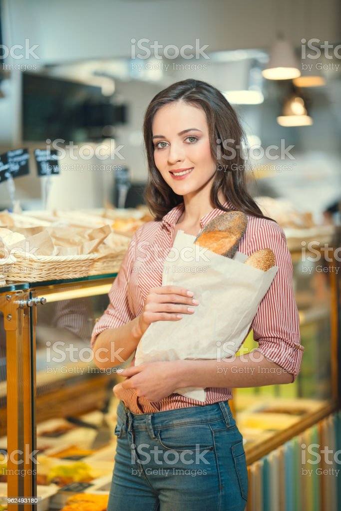 Customer in bakery - Royalty-free Adult Stock Photo