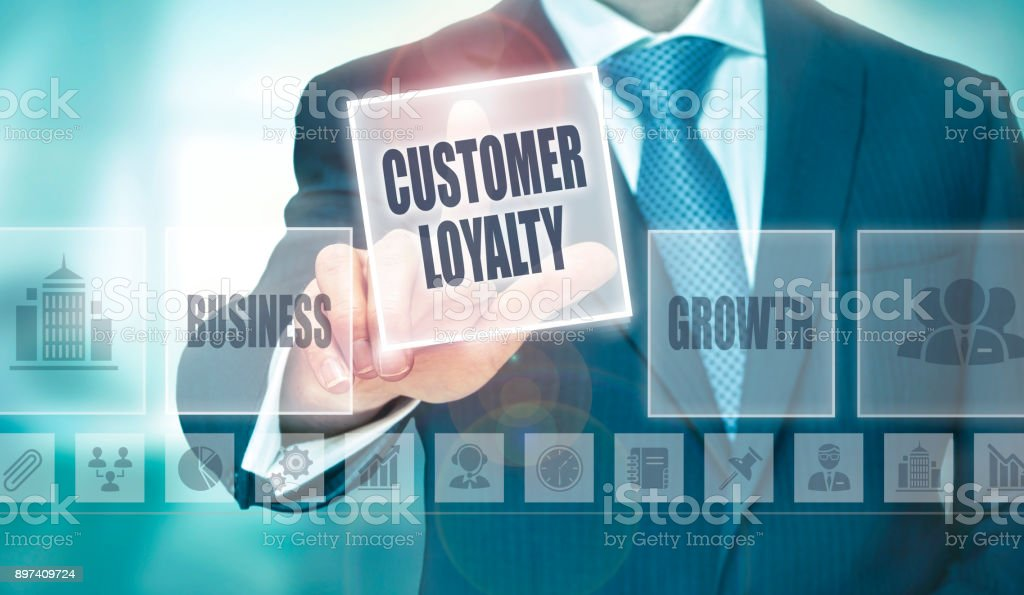 Customer Loyalty Concept stock photo