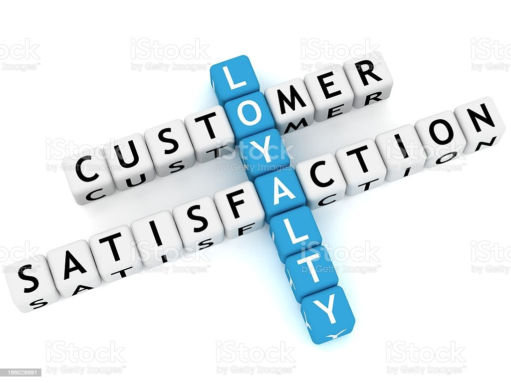 Customer Loyalty royalty-free stock photo