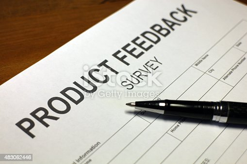 178090546 istock photo Customer Product Survey Form 483062446