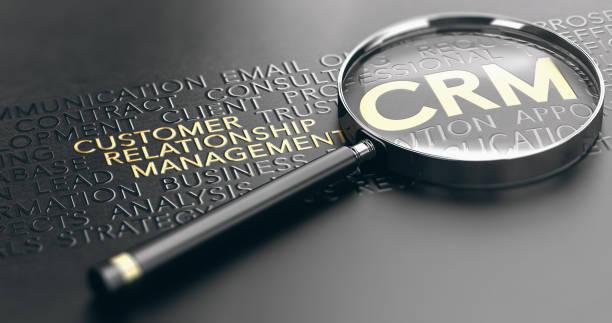 CRM, Kunde Verhältnis-Management-Konzept – Foto
