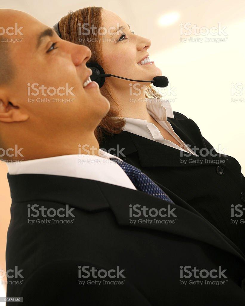Customer Representative royalty-free stock photo