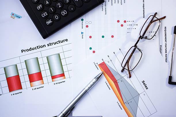 die bedürfnisse der kunden bei der planung und produktion - brille bestellen stock-fotos und bilder