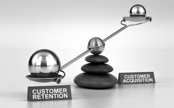 Retention VS Kundengewinnung – Foto