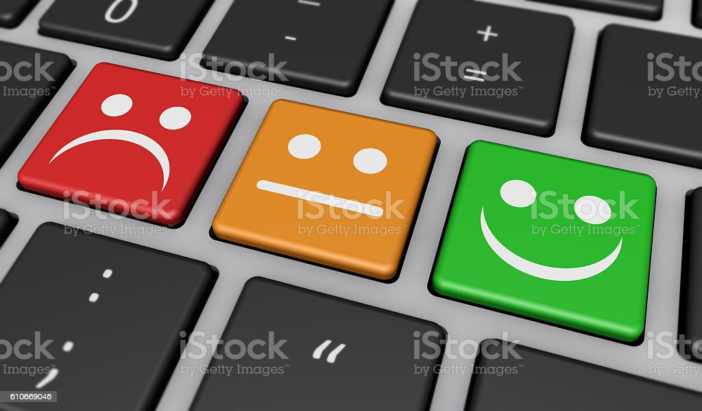 Customer Satisfaction Business Quality Feedback stock photo