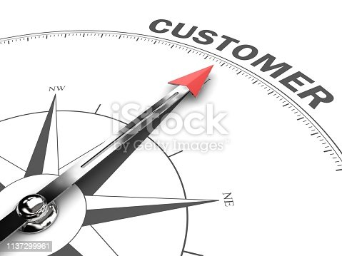 Customer satisfaction compass business target goal direction