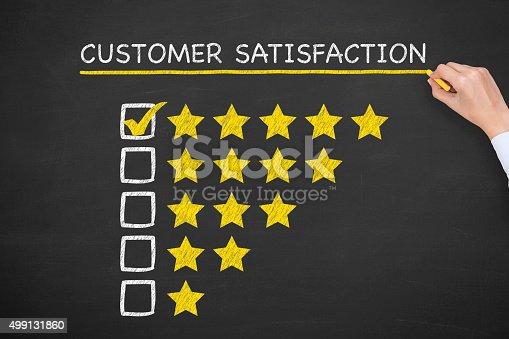 istock Customer Satisfaction 499131860