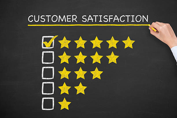 Satisfaction du client - Photo