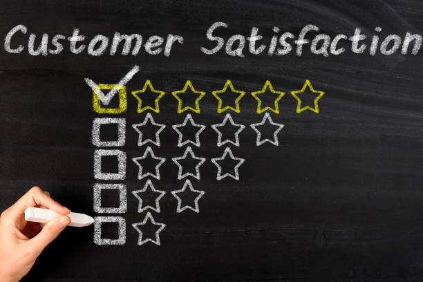 customer satisfaction - testimonial stock photos and pictures