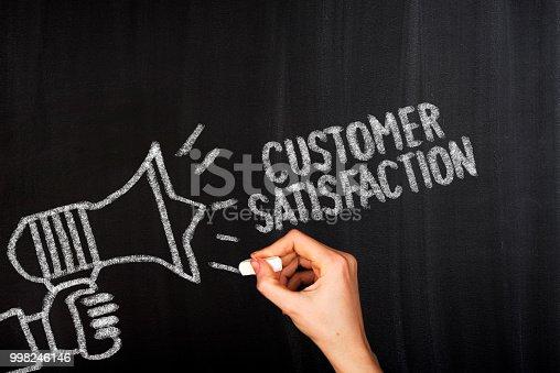 istock Customer satisfaction 998246146
