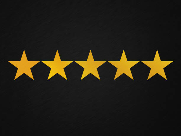 customer satisfaction stars - five objects stock pictures, royalty-free photos & images