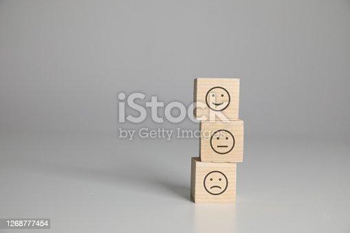 Customer satisfaction survey feedback teamwork cubes