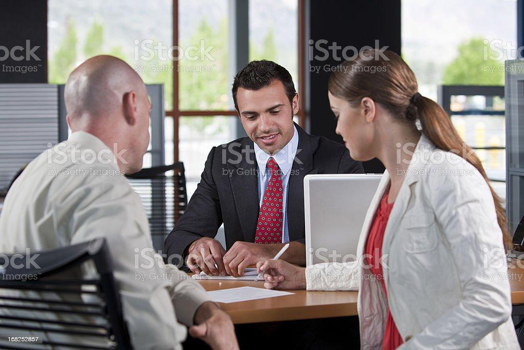 Customer service agent royalty-free stock photo